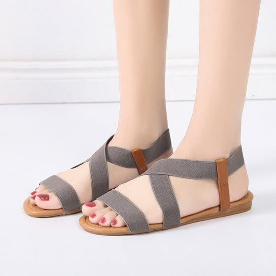 bd26d75f43fdd women sandals 2019 hot fashion Women Summer Beach Roman Sandal ladies Open  Toe flat sandal Casual