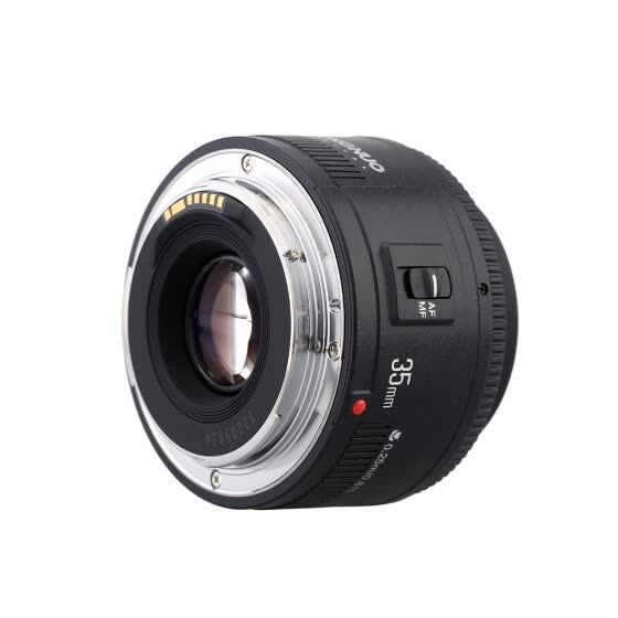 Yongnuo YN35mm F2 Lens 1:2 AF / MF Wide-Angle Fixed/Prime Auto Focus Lens for Canon EF Mount EOS Camera