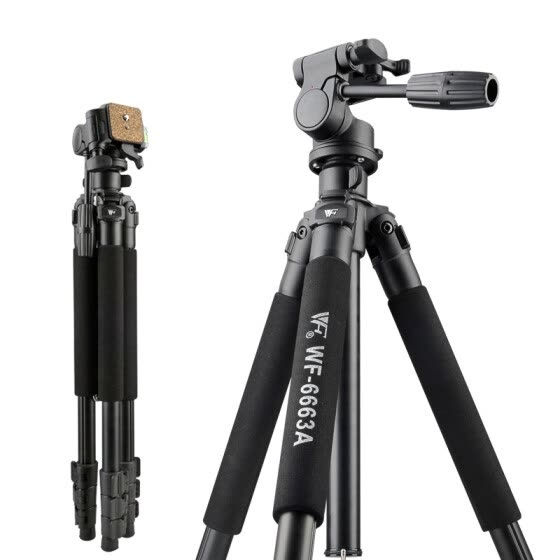 Weifeng WEIFENG WF-6663A magnesium alloy SLR digital camera tripod portable travel photography tripod night fishing light stand