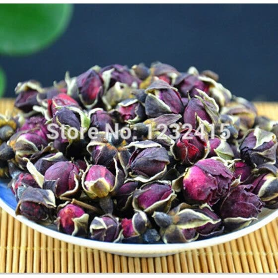 Natural Organic China Rose Bud Flower Tea Green Food For Slimming Health Care