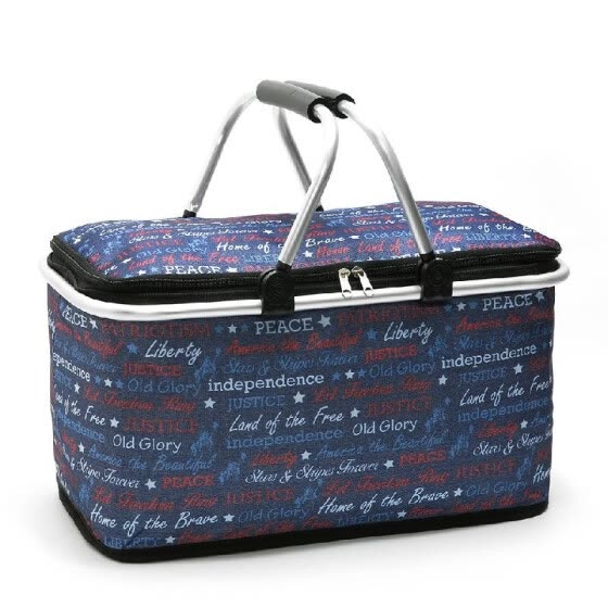 4627c5f2096f Shop Lixada 29L Foldable Insulated Bag Cooler Lunch Tote Thermal ...