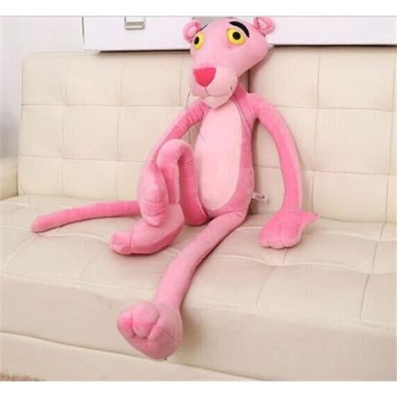 """16 """"40CM Симпатичные мягкие плюшевые игрушки куклы фаршированные животные Naughty Pink Panther Kids Gift"""