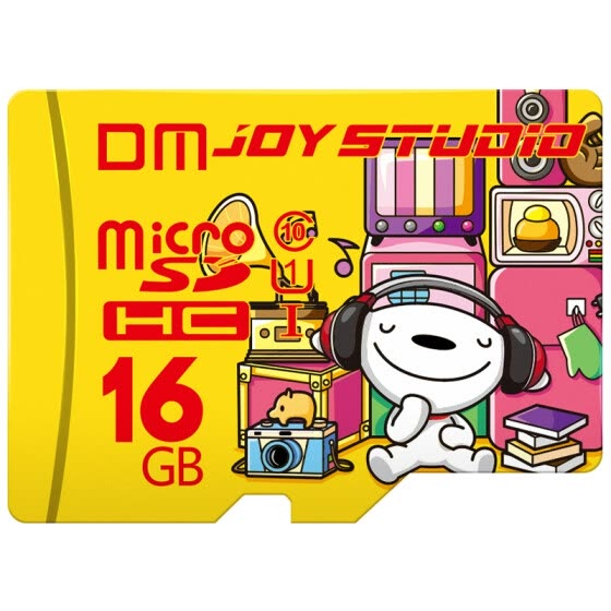 [Jingdong JOY joint name] Damai (DM) 16GB TF (MicroSD) memory card C10 JOY exclusive version of the mobile phone high-speed driving recorder monitoring memory card