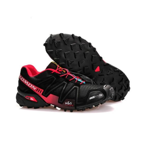 2018 New Salomon Speed Cross 3 CS III Outdoor Male Camo Red Black Sports Shoes mens Speed Crosspeed 3 running shoes eur 40-46