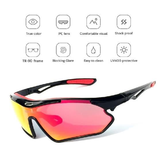 cf965d3c0a2 Cycling Sun Glasses Polarized Cycling Sunglasses Bike Bicycle UV400  Protection Sports Driving Golf Motorcycling Fishing Skating