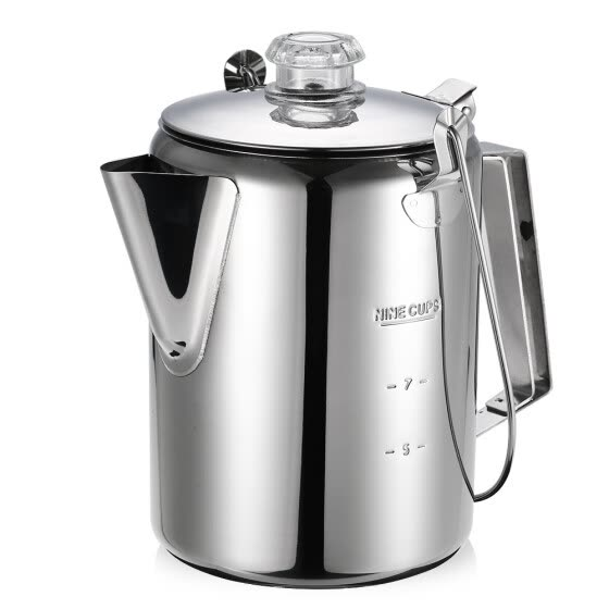 Outdoor 9 Cup Stainless Steel