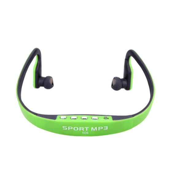 Portable Sport Wireless TF FM Radio Headset Headphone Earphone Music MP3 Player with Mini USB Port