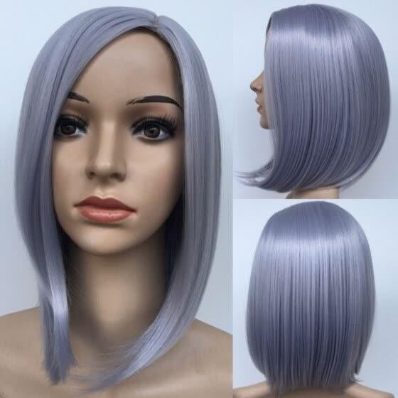 Shop Wholesale Women Fashion Wigs Grey Bob
