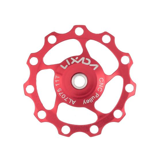 Bike Bicycle 11T Aluminum Sealed Bearing Jockey Wheel Rear Derailleur Pulley