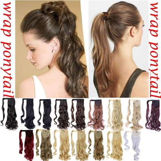Shop 3 Types Long Straight Ponytail Extension