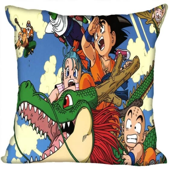 Shop Dragon Ball Z Pillow Cover Bedroom Home Office Decorative Pillowcase Square Zipper Pillow Cases Satin Fabric No Fade Online From Best Shams Bed Skirts Bed Frame Draperies On Jd Com Global Site