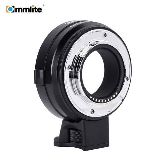 Commlite CM-EF-FX Electronic Camera Lens Mount Adapter Ring Support IS Image Stabilization EXIF Signal Transmission AF Auto Focus