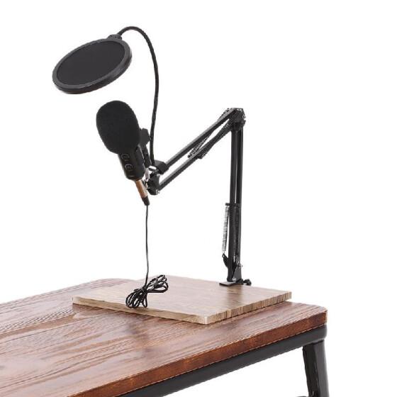 42f15301549d5 Micrófono de condensador USB Estudio profesional Mic Plug and Play para  grabar Transmisión en casa Estudio