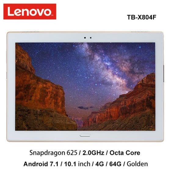 Original Lenovo XiaoXin 8.0 inch snapdragon 625 4G Ram 64G Rom 2.0Ghz octa core Android 7.1 Gold 4850mAh Tablet wifi tb-8804F