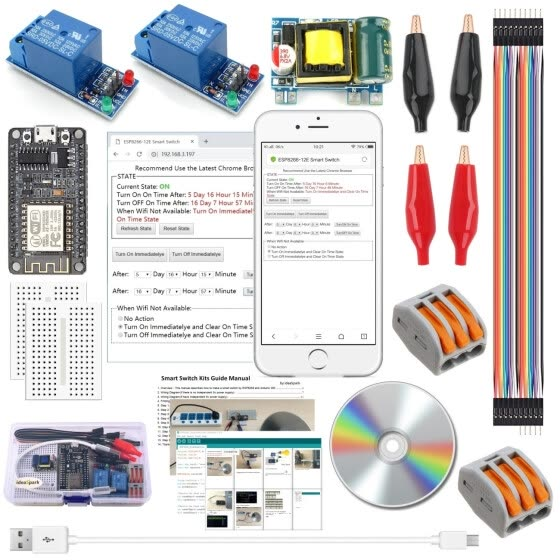 Shop ESP8266 Smart Switch Kits Wireless Wifi Remote Control