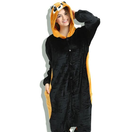 Adult Kigurumi Romper Nightwear Red Panda Pajamas Sets Stitch Animal  Raccoon Unisex Onesie Costumes Sleepwear Christmas 4e458d29d2fc9