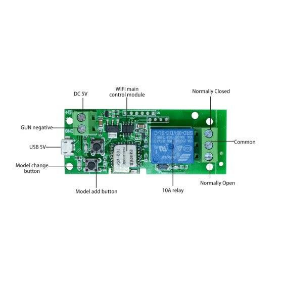 Shop eWeLink USB DC5V Wifi Switch Wireless Relay Module