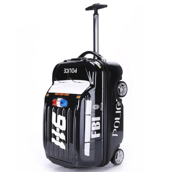 66854a016d24 Shop Hot Kids fashion rolling luggage bags children schoolbag ...
