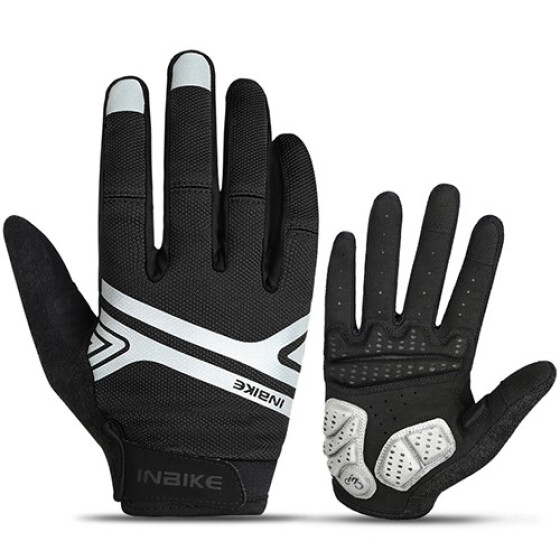 Cycling Touch Screen Bike Gloves Sport Shockproof Road Full Finger Bicycle Glove