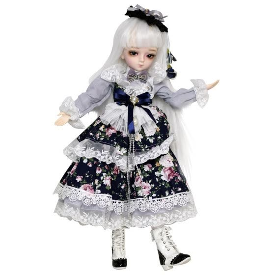 EVA BJD Evelyn 1/4 BJD Doll Full Set Ball Jointed Doll + Clothes + Wig + Shoes + Makeup + Accessories