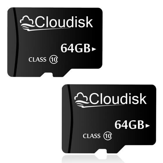 dbe110cf2b7 Shop 2pack Cloudisk Micro SD Card 64GB Memory Card MicroSD 64 GB ...