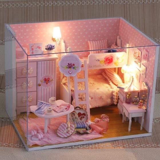 Shop Miniature Super Mini Size Doll House Model Building ...