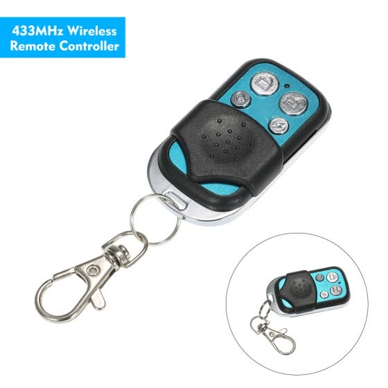 Shop 433MHz Wireless Metal Remote Controller with Keychain with Arm