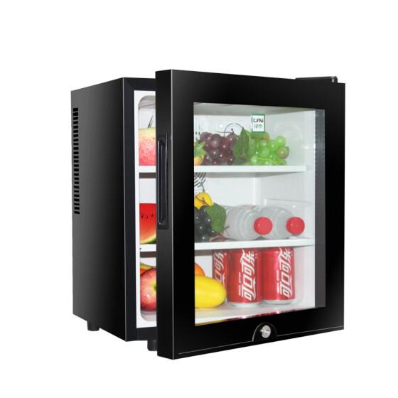 mini fridge cabinet coffee bar
