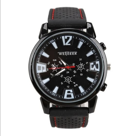 New Watch Sport Quartz Wrist Men Analog Digital Rubber Waterproof Military