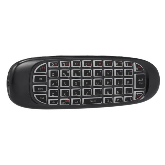 Backlit 2.4G Air Mouse Wireless Keyboard Voice Control 6-Axis Motion Sensing Backlight for Smart TV Android TV BOX PC