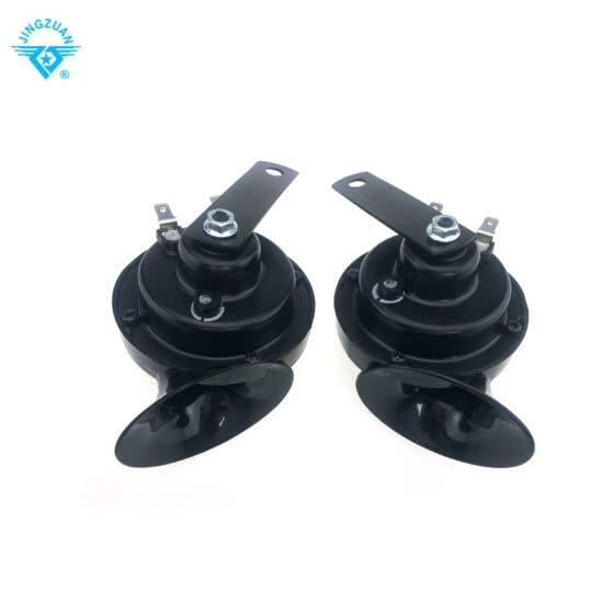 A pair of price loud car motorcycle horn 12V car styling accessories for vespa loudnes 112db waterproof and dustproof Teflon coati