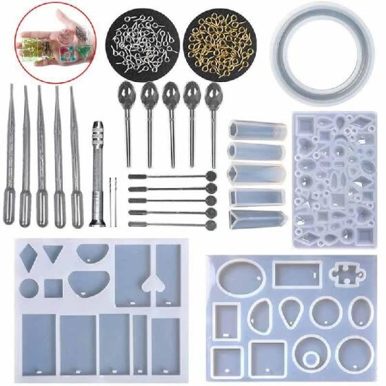 Shop DIY Handmade Resin Casting Molds Kit Silicone Mold Making