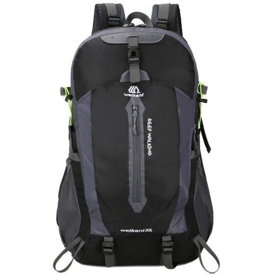 ed4a9cde1845 Hiking Backpack 50L Rucksacks Waterproof Backpack Men women Outdoor Camping  Backpack Gym Bags Travel Bag Women