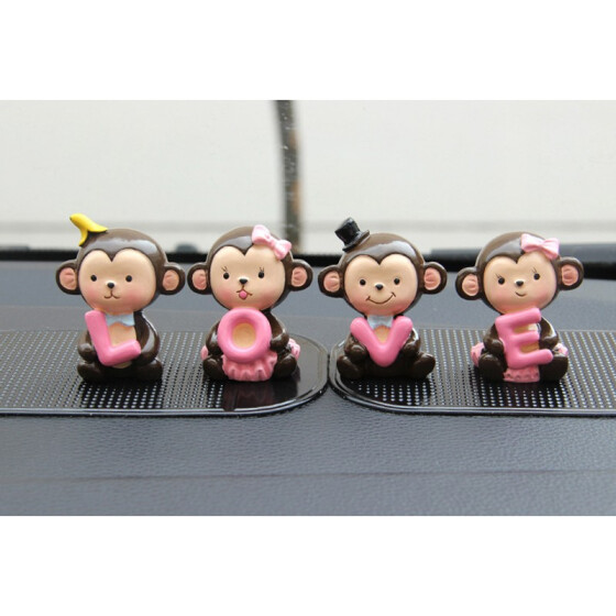Auto Lovely Resin Car Interior Ornament Gifts Auto Supplies Car Decoration