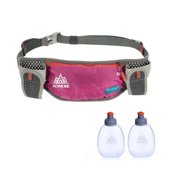 394d8e420885 Shop AONIJIE Running Hydration Belt Bottle Holder Belt Reflective ...