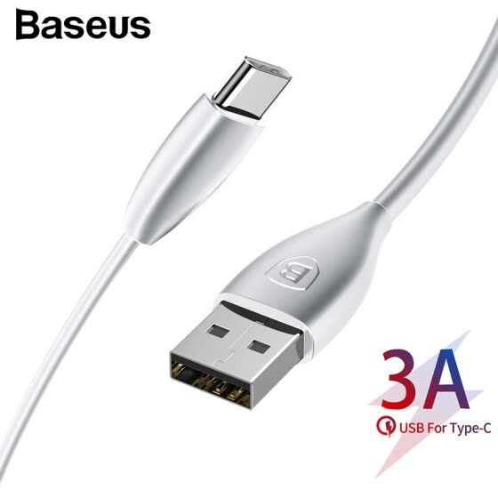 Baseus USB Cable 3A Max Charging Type-C Cable fast Charging and data transfer for Samsung Note 9 S9 HuaWei XiaoMi