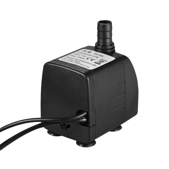 1000L/H 15W Submersible Water Pump with 4 LED Light Ultra Quiet for Pond Aquarium Fish Tank Tabletop Fountain Hydroponics 4.9ft (1
