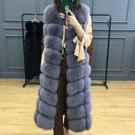Winter Women's Jacket Real Fox Fur coat Female Natural Fur Coat Furry High Quality Hot New Discount Warm Outdoor Fashion