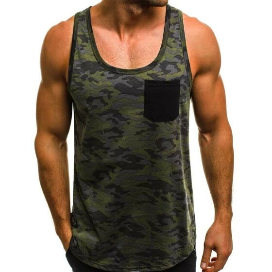 SUNSIOM Gym Mens Muscle Sleeveless Tank Top Tee Shirt Bodybuilding Sport Fitness Vest