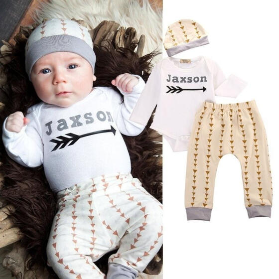 Newborn Baby Boy Girl Cute Deer Clothes Romper Bodysuit Jumpsuit Hat Outfits Set