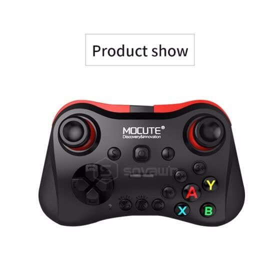 Mocute 056 Bluetooth Gamepad Android Wireless Joystick VR Controller Mobile Joypad for PUBG Smartphone Smart TV