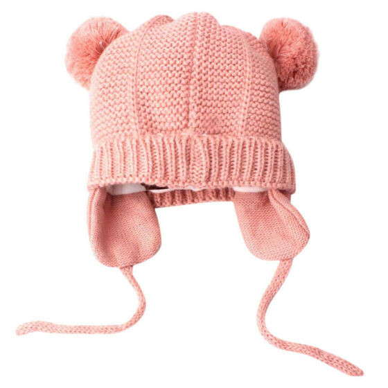Baby Newborn Knitted Crochet Beanie Hat Boy Girl Winter Warm Kids Cap Toddler