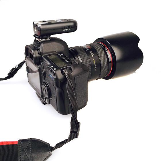 Yongnuo RF 603C II de flash inal/ámbrico remoto disparador C3 para Canon 5D 1D 50D