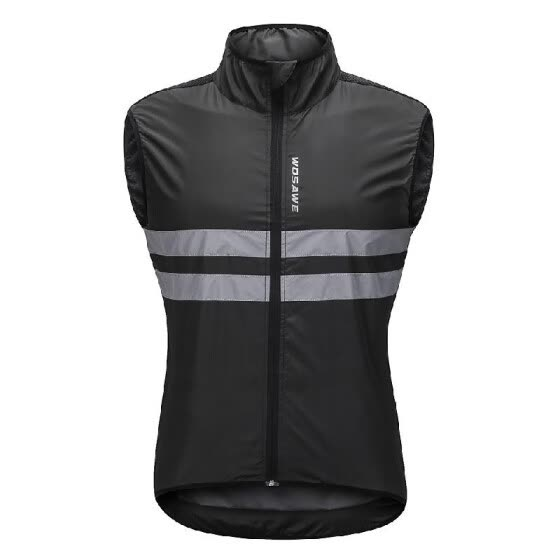 5c3a1022b Wosawe Sleeveless Cycling Jersey Windproof Breathable MTB Bike Riding Top  Sports Jacket for Men And Women