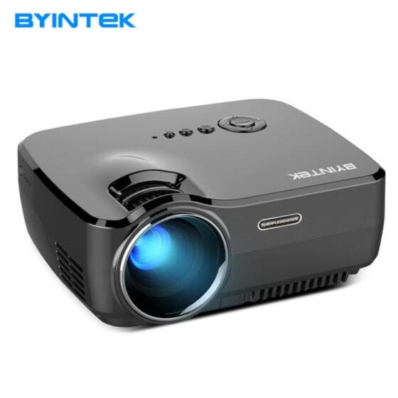 BYINTEK SKY GP70 Portable Mini LED Cinema Video Digital HD Home Theater Projector Beamer Projector With USB HDMI