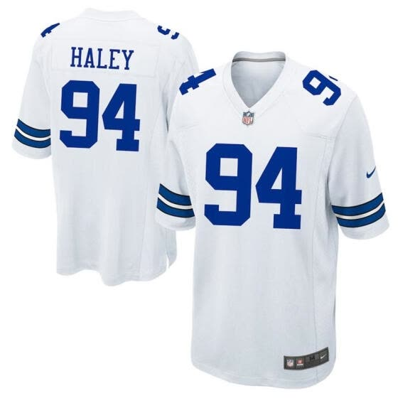 new products 5902a c0414 Shop Mens Football Jersey Dallas Cowboys Charles Haley White ...