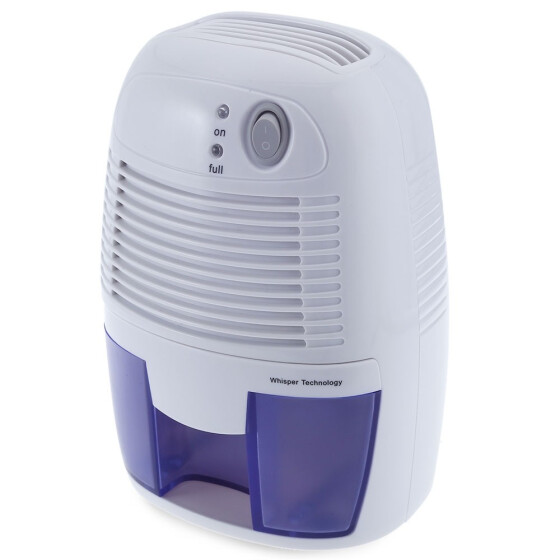 Mini Air Dehumidifier Drying Moisture Absorber 500ML Water Tank for Home Office.
