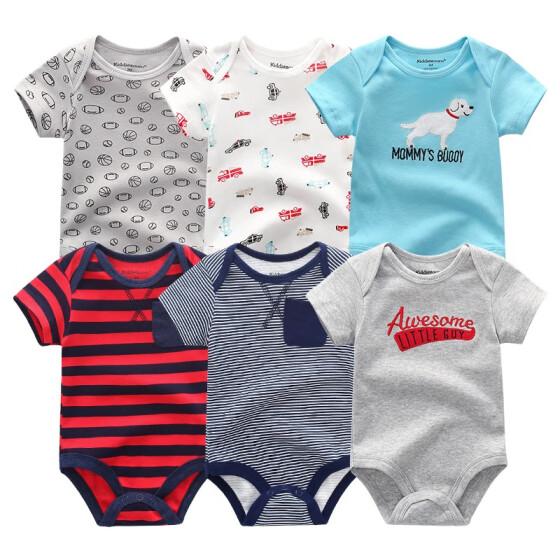 435420267 6 UNIDS Más Nuevo Conjunto de Ropa de Bebé Ropa de Bebés Bebés Roupas de  bebe