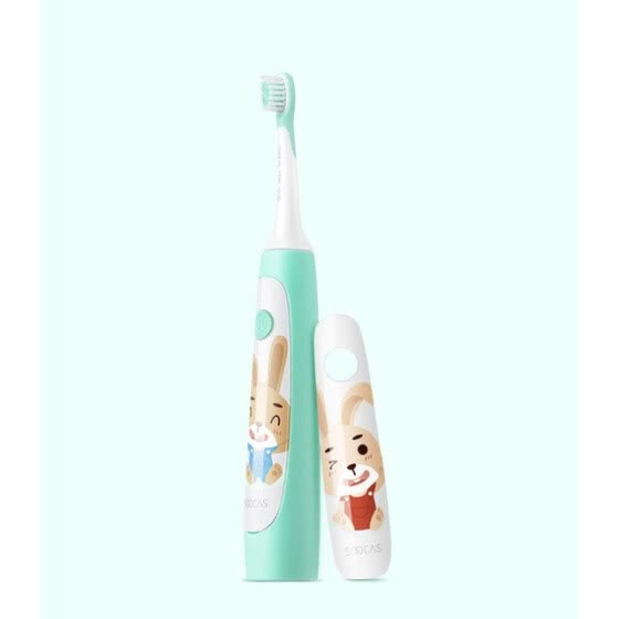 SOOCAS Sonic Electric Children Toothbrush IPX7 Waterproof Tooth Brush Kids Rechargeable Electric Toothbrush 2 Smart Clean Mode