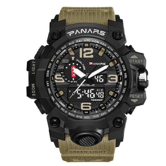 shop mens digital watch premium large analog sports watch with el backlight online from best digital watches on jd com global site joybuy com joybuy